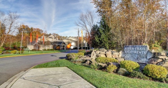 Seattle, Blackstone Group, River Trail Apartments, Bothell, Puyallup, Puget Sound region, multifamily, Canyon Pointe office campus