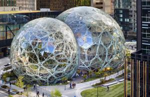 UMC, Seattle, University Mechanical Contractors, Seattle Spheres, Space Needle, Columbia Center