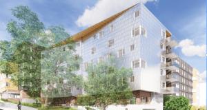 Yesler Terrace, Seattle, Seattle Housing Authority, Hinoki, Yesler Terrace Community Center, HEWITT Architecture, Pyatok