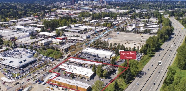 Seattle, Bellevue, DCL Management, LH Apple Tree Plaza, King County, Apple Tree Plaza, Crossroads, industrial/manufacturing