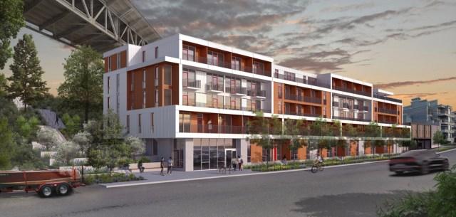 Seattle, Eastlake, PUBLIC47 Architects, Shilshole Development, Karen Keist Landscape Architecture