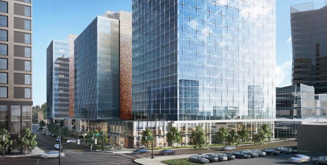 Vulcan, Bellevue, Bellevue Plaza, NBBJ, GLY Construction, Graphite Design Group