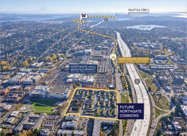 Seattle Housing Authority, Northgate Plaza, John Mullally, Vincent Mullally, Rainier Vista, Yesler, High Point, New Holly, Northgate Commons Alliance