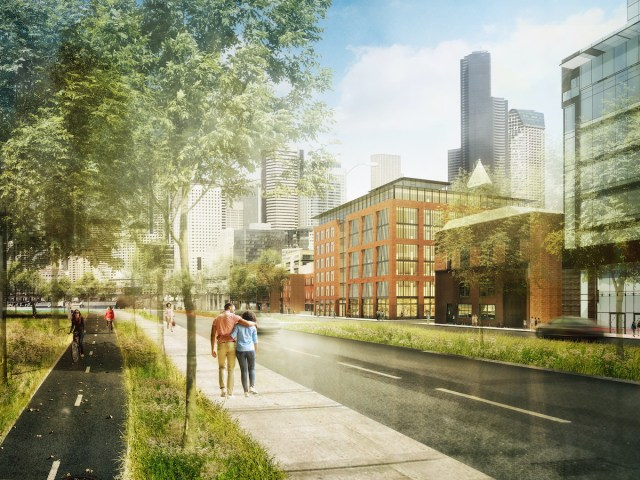 Seattle, Pioneer Square, The Jack, Urban Visions, Olson Kundig, JTM Construction, LEED, Newmark Knight Frank