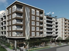 Continental Properties, Johnson Braund Inc. Roy Street Apartments, Seattle, Uptown