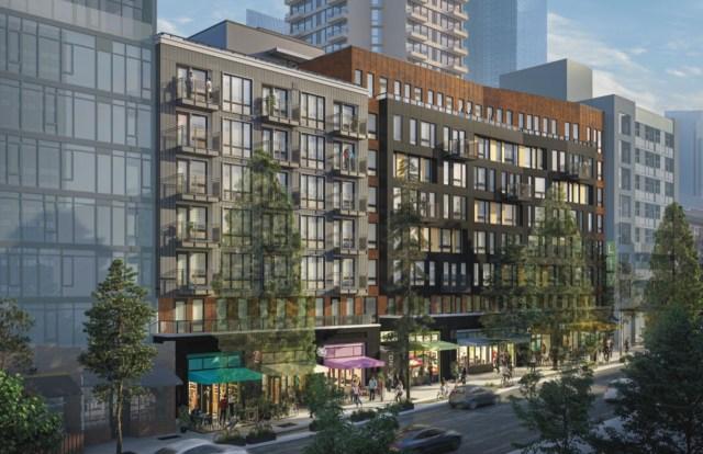 Liv Communities, Ankrom Moisan Architects, Belltown, Seattle
