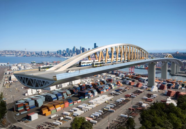 West Seattle Bridge, Seattle Department of Transportation, Seattle, B+H