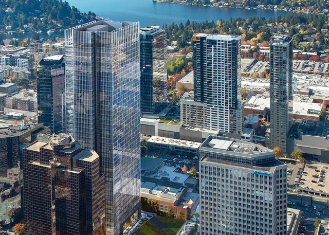 Amazon, Vulcan, 555 Tower, West Main, NBBJ, Graphite Design Group, Compton Design Office, GLY