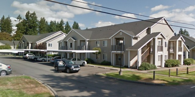 Centralia, Summerfield Commercial, Park Center Apartments, Lewis County
