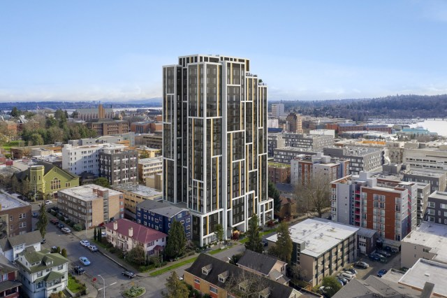 Greystar, Weber Thompson, U-District, Seattle, Villa Camini Apartments, Colliers International