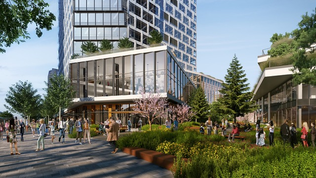 Amazon, Bellevue, Bellevue 600, NBBJ, Grand Connection, Housing Equity Fund
