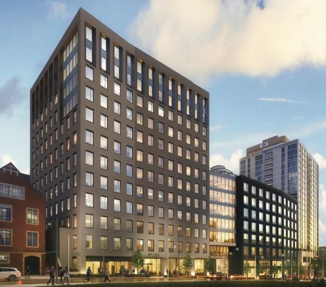 Seattle, University District, 4530 12th Ave. NE, CollinsWoerman, Touchstone, Portman Holdings, Portman Architects, GGLO