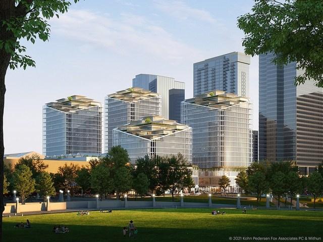 Kemper Development Co. The Bellevue, Bellevue, Mithun, Bellevue Square Mall, KPF