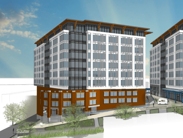 Redmond, Bellevue, CBRE, Redmond City Center, 88 Bellevue, Lakeside Holdings LPI, JMA Architecture, Cosmos Development Company