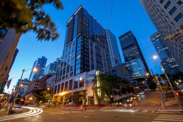 Loews Hotels and Resorts, Lighthouse Investments, Seattle, Hotel 1000, Brookfield, Thayer Lodging Group, CBRE, Loews Regency Seattle