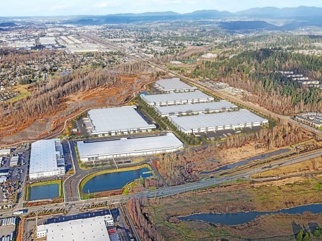 Nordstrom SeaPORT Logistics Center Tarragon Sumner CBRE Tacoma Seattle Sierra Construction NELSON AHBL