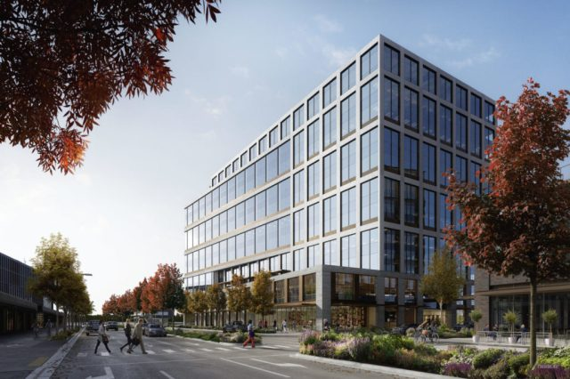 Facebook, Bellevue, Shorenstein Properties, Wright Runstad & Company, Spring District, Block 5, Broderick Group
