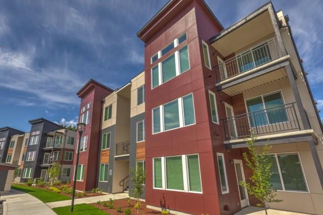 Ethos Apartments, HAL Real Estate, Shidler Group, Kent, Microsoft, Advanta Commons, Bellevue,