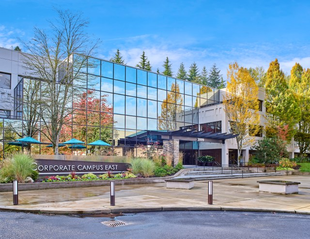 Corporate Campus East III Bellevue American Assets Trust Newmark Ares Management SteelWave Puget Sound Seattle