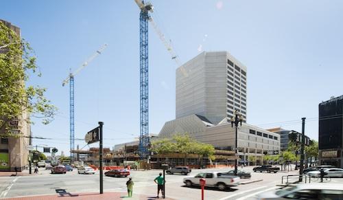 Apartment construction in San Francisco