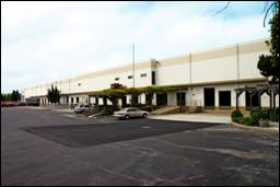An industrial site in Hayward