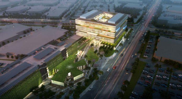 Samsung rendering The Registry real estate San Jose