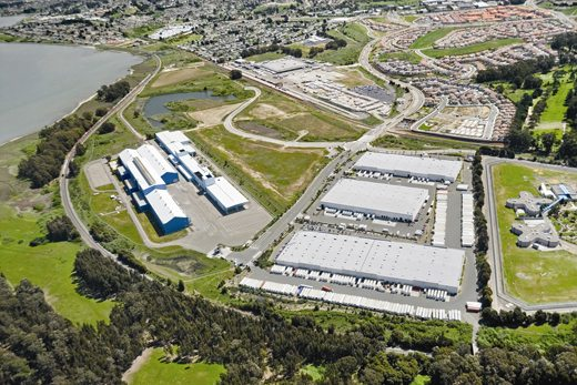 Pinole Point Business Park is in proximity to KTR's land