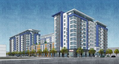 Redwood City, Indigo, CBRE, The Pauls Corporation, Mount Kellett Capital Management, San Mateo real estate news, Bay Area news, development, housing