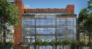 BCCI Construction, San Francisco, SOMA, Bluxome Partners, Delos, RIM Architects, Rapt Studio, Cushman & Wakefield, SOMA, Bluxome Partners, McMillan Electric
