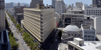 Building, Colliers, CBRE, San Francisco, Landmark, Union Square, Phelan Building, Thor Equities, Silicon Valley, SoMa, South of Market, Mid-Market
