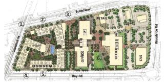 Redwood City, The Sobrato Organization, Mixed-use, Broadway Plaza, Studio T Square, Peninsula, Bay Area