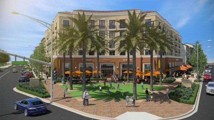 Santa Clara University, mixed-use, Santa Clara, Bay Area, Irvine Co, Mission Town Center, Silicon Valley