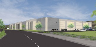 JLL Silicon Valley Panattoni Development Compay Silicon Valley Industrial Center LEED industrial warehouse Bay Area