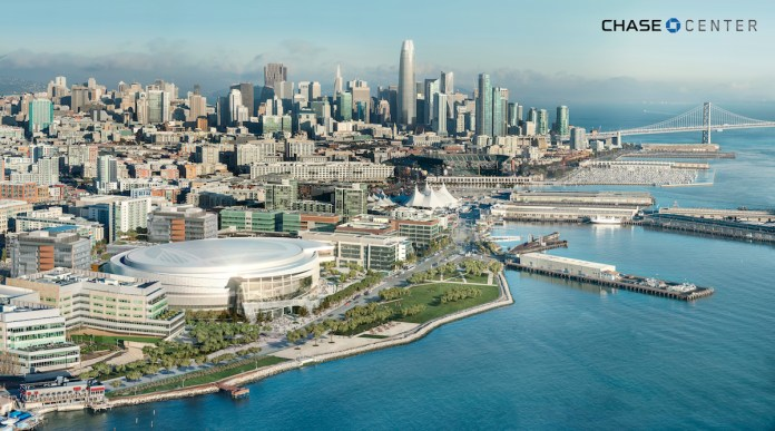 Chase Center, ICON Venue Group, GSW Arena LLC, San Francisco, Mission Bay, Bay Area
