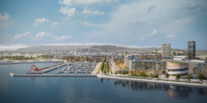 The San Francisco Shipyard, Excellence in Business (Ebbies) Award, FivePoint Holdings, SF Chamber of Commerce, San Francisco, Bay Area