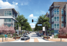 Foster Square Foster City Lennar Homes Atria MidPen Housing Blake Griggs Properties The New Home Company Residential Commercial