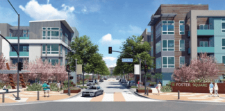 Foster Square Foster City Lennar Homes Atria MidPen Housing Blake|Griggs Properties The New Home Company Residential Commercial