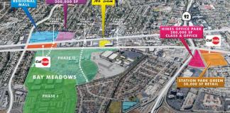 San Mateo CBRE Ah Sam San Mateo Rail Corridor Plan Hillsdale Plan Area Caltrain Bay Meadows Hillsdale Terraces Hillsdale Shopping Center