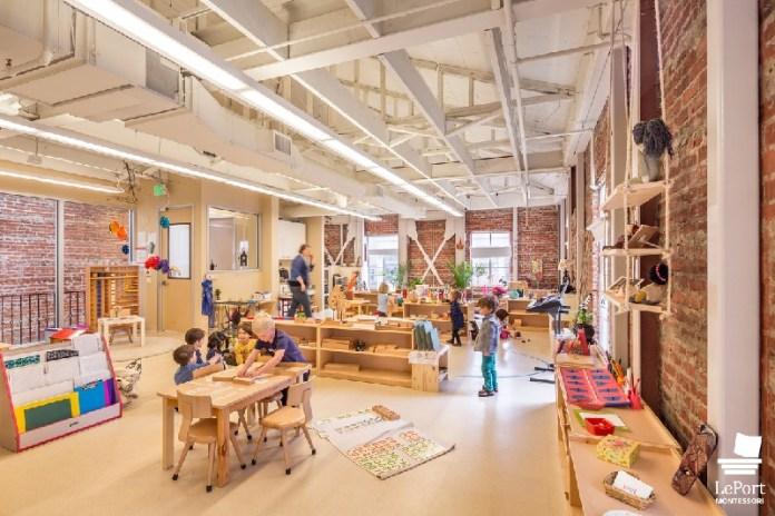 IIDA, Ware Malcomb, Leport Montessori Schools Project, San Francisco, Bay Area, BCCI Construction