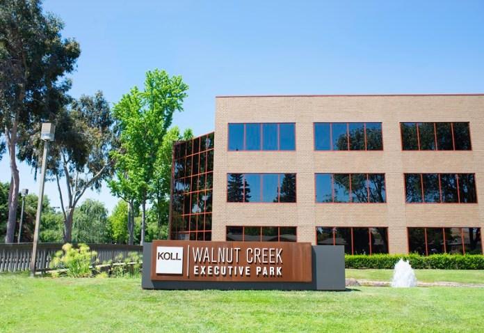 Walnut Creek, Newmark Knight Frank, Walnut Creek Executive Park, The Koll Company, Rialto Capital Management, Shadelands Business Park, Bay Area, Pleasant Hill, BART