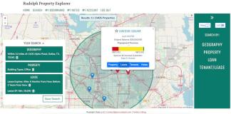 Rudolph Property Explorer, Commercial Mortgage Backed Securities, Dallas, Ford Fisher, Commercial Real Estate Tech, CoStar