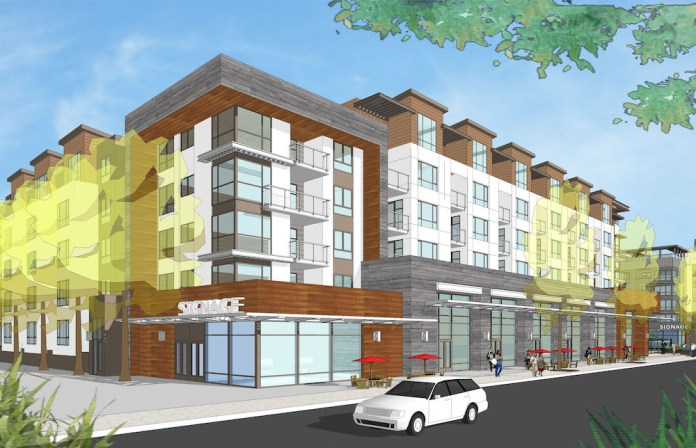 Holliday Fenoglio Fowler, HFF, The Reserve, San Jose, Otéra Capital, Santana Row, Silicon Valley, LEED, apartment development