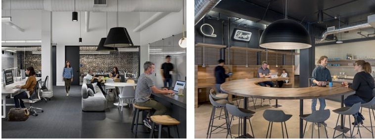 How do we create meaning in todays office spaces the registry at workplaces for argonaut and quantcast both in san francisco ca mobile technology allows employers to offer a choice of settings to support a variety malvernweather Images