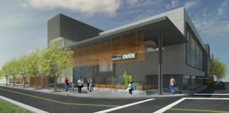 McCarthy Building Companies, Dreyfuss + Blackford Architecture, Sacramento State, University Union, Starbucks, Science Complex, Parking Structure
