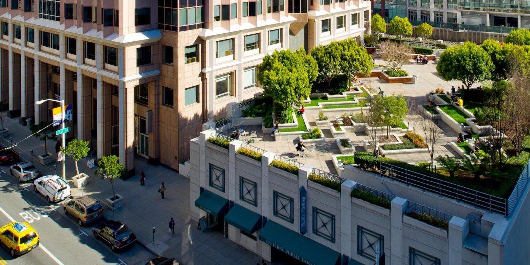 Kilroy Realty, Okta, San Francisco, 100 First Street, LEED, SMITH + SMITH Landscape Architects