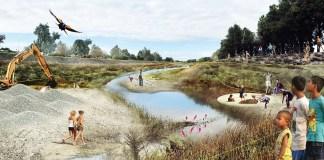 Public Sediment, Arcadis, Alameda Creek, San Francisco, Resilient by Design, Bay Area, Alameda County, Alameda Creek, Resilient by Design's Bay Area Challenge, SCAPE Landscape Architecture, Dredge Research Collaborative, TS Studio