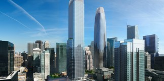 HKS Architects, Pelli Clarke Pelli Architects, Transbay Joint Powers Authority, San Francisco, Transbay Parcel F, Goldman Sachs, Broad Street Principal Investments, Urban Pacific, Hines, F4 Transbay Partners LLC