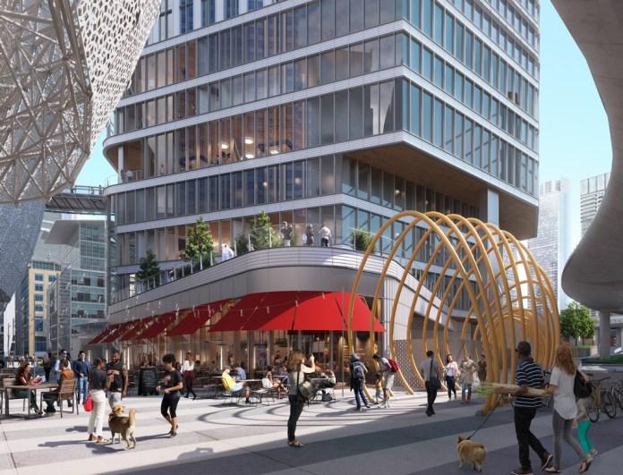 HKS Architects, Pelli Clarke Pelli Architects, Transbay Joint Powers Authority, San Francisco, Transbay Parcel F, Goldman Sachs, Broad Street Principal Investments, Urban Pacific, Hines, F4 Transbay Partners LLC