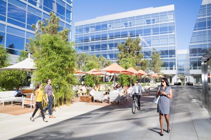 Analog Devices, Silicon Valley, Irvine Company, Santa Clara Square, Linear Technology, Hitachi Vantara, AMD, Ericsson, Cambridge Industries Group, Veritas Technologies, Pei Cobb Freed & Partners