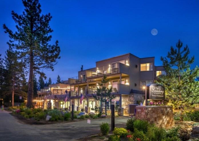 DiamondRock Hospitality Company, The Landing Resort & Spa, Lake Tahoe, 2017 Hotel Adjusted EBITDA, TripAdvisor Traveler's Choice Award Top 20 Hotel in the US, Condé Nast Readers' Choice Award, Northern California, Sierra Nevada, Heavenly Village, San Francisco, Silicon Valley, San Jose, Sacramento, Reno/Tahoe International Airport